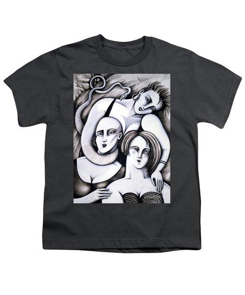 Big Bald And Boa Youth T-Shirt