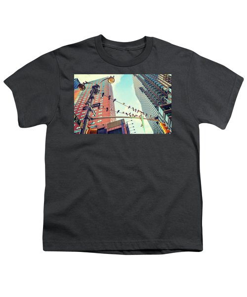 Birds In New York City Youth T-Shirt