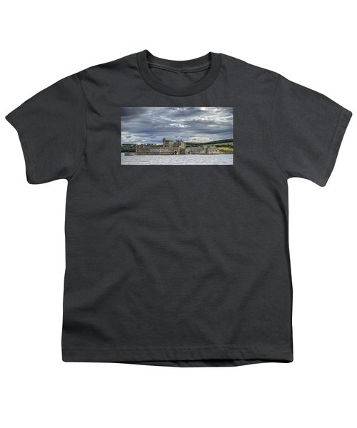 Blackness Castle Youth T-Shirt by Jeremy Lavender Photography