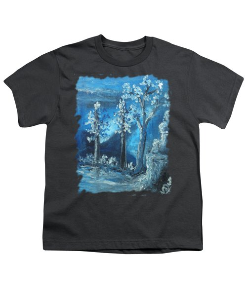 Blue Nature Youth T-Shirt