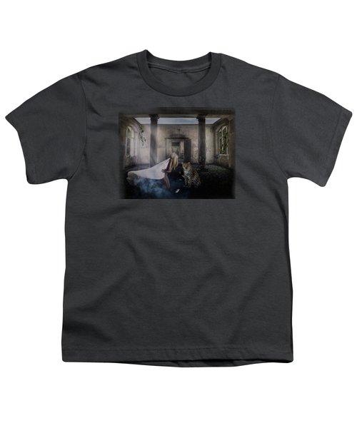 Bluebonnet Hall Youth T-Shirt by Terry Fleckney