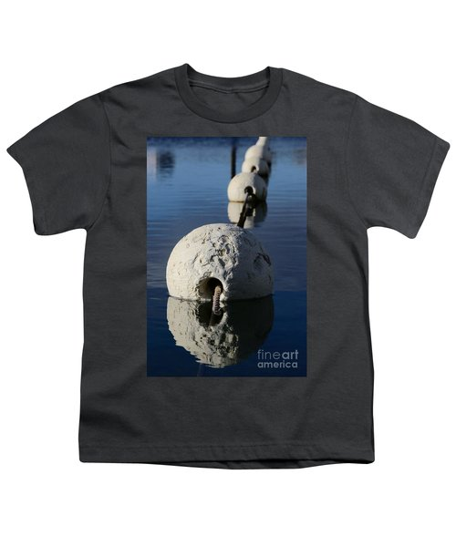 Youth T-Shirt featuring the photograph Buoy In Detail by Stephen Mitchell