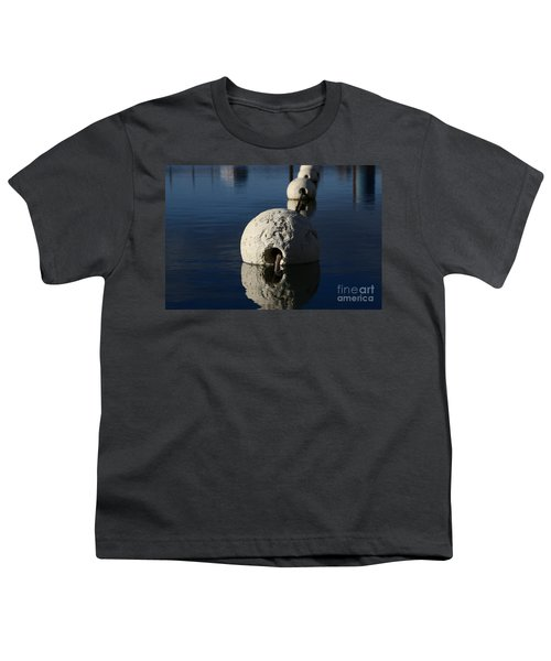 Youth T-Shirt featuring the photograph Buoy Upfront by Stephen Mitchell