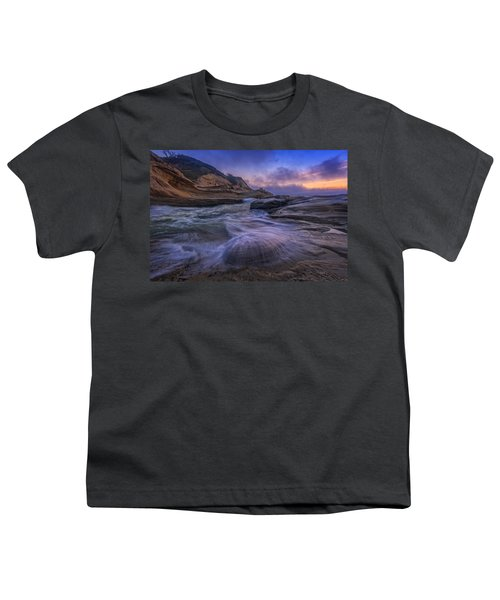 Cape Kiwanda Twilight Youth T-Shirt