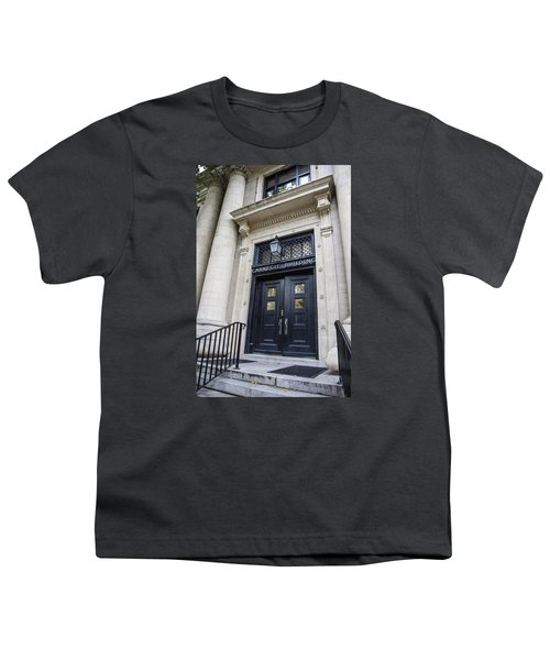 Carnegie Building Penn State  Youth T-Shirt by John McGraw