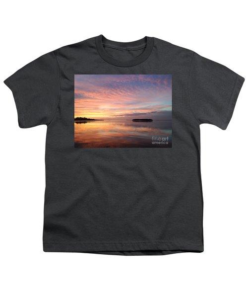 Celebrating Sunset In Key Largo Youth T-Shirt