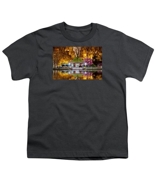 Central Park Memorial Youth T-Shirt by Az Jackson
