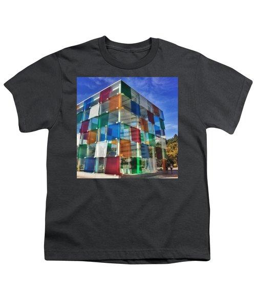 Centre #pompidou #malaga #museo #museum Youth T-Shirt
