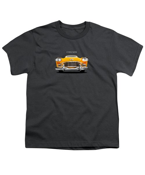 Checker Cab Youth T-Shirt by Mark Rogan