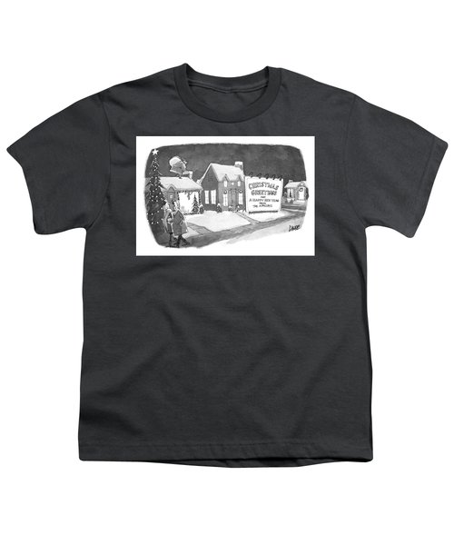 Christmas Greetings From The Applebys Youth T-Shirt