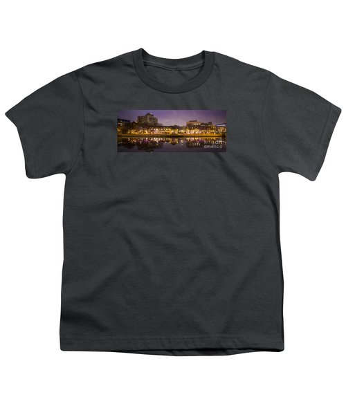 Youth T-Shirt featuring the photograph Christmas Reflections  by Ricky L Jones