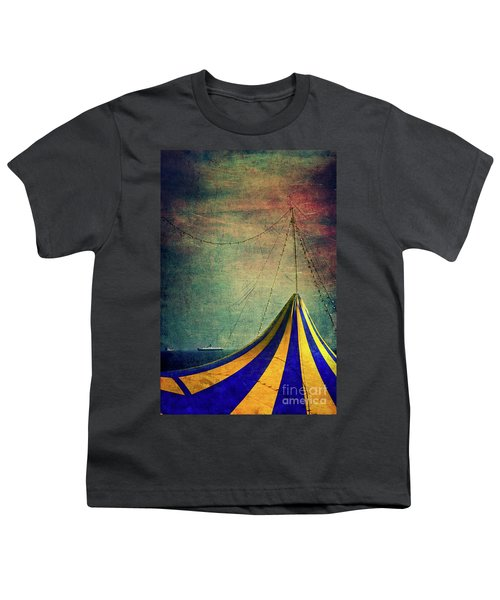 Circus With Distant Ships II Youth T-Shirt