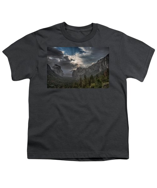 Clouds And Light Youth T-Shirt by Bill Roberts