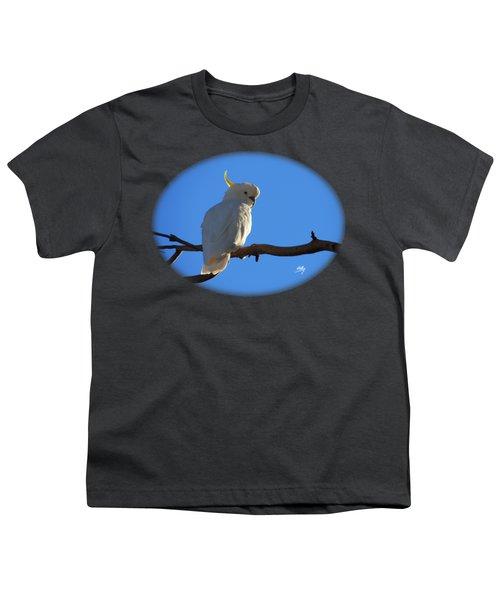 Cockatoo Youth T-Shirt by Linda Hollis