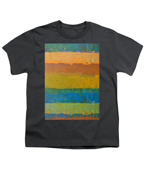 Color Collage Three Youth T-Shirt by Michelle Calkins