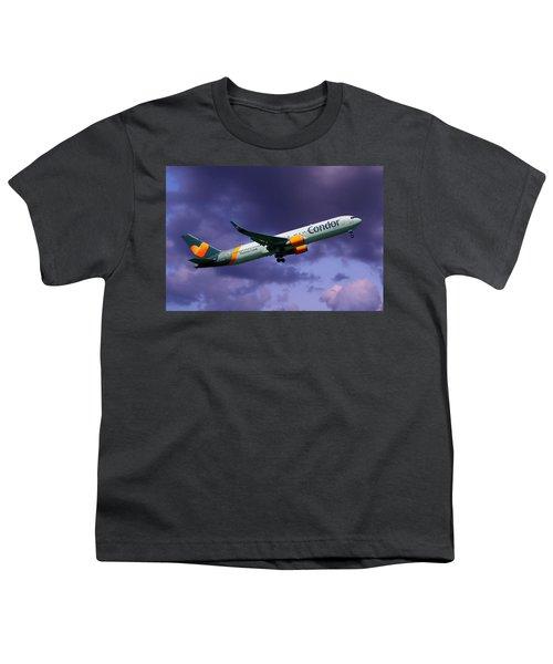 Condor Boeing 767-3q8 Youth T-Shirt