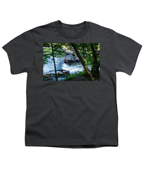 Cool Mountain Stream Youth T-Shirt