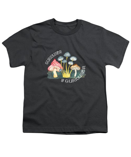 Curiouser And Curiouser Youth T-Shirt