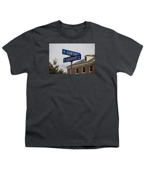 Curtin And Burrowes Penn State  Youth T-Shirt by John McGraw