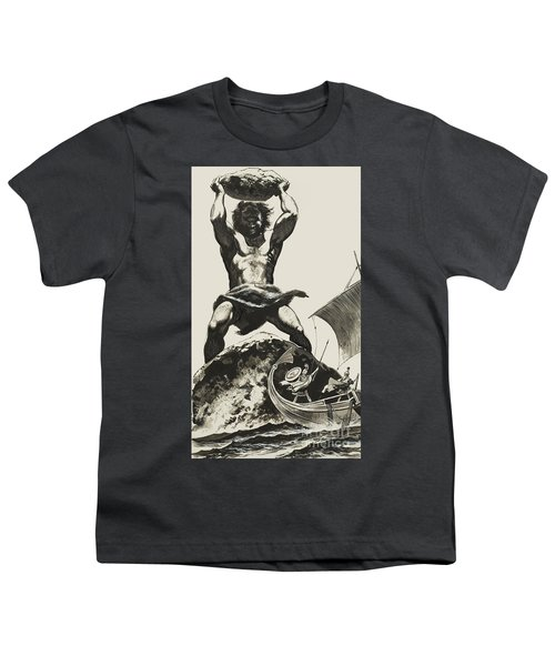 Cyclops Youth T-Shirt by Angus McBride