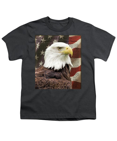 Declaration Of Independence Youth T-Shirt