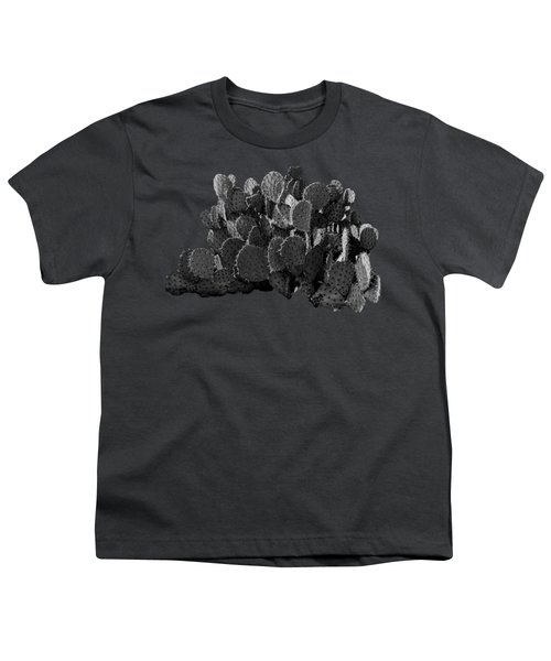 Desert Prickly-pear No7 Youth T-Shirt by Mark Myhaver