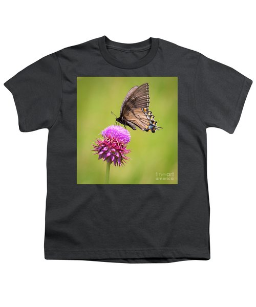 Eastern Tiger Swallowtail Dark Form  Youth T-Shirt