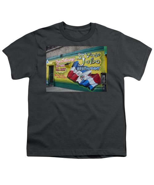 El Viejo Jobo  Youth T-Shirt by Cole Thompson