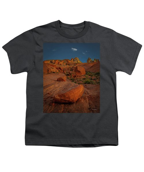 Evening In The Valley Of Fire Youth T-Shirt