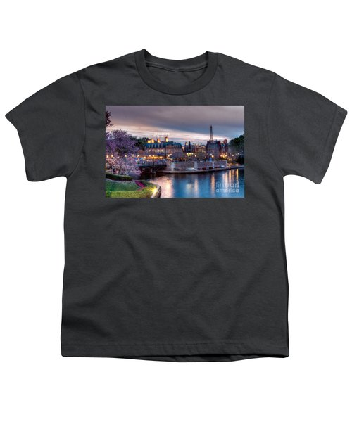 Fall Sunset Of France Youth T-Shirt