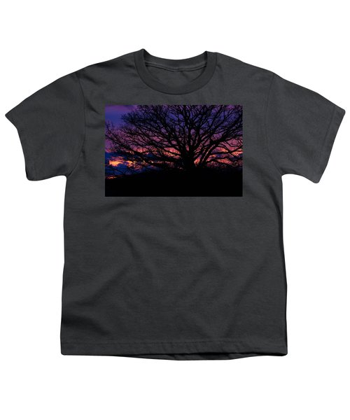 February Sunset Youth T-Shirt