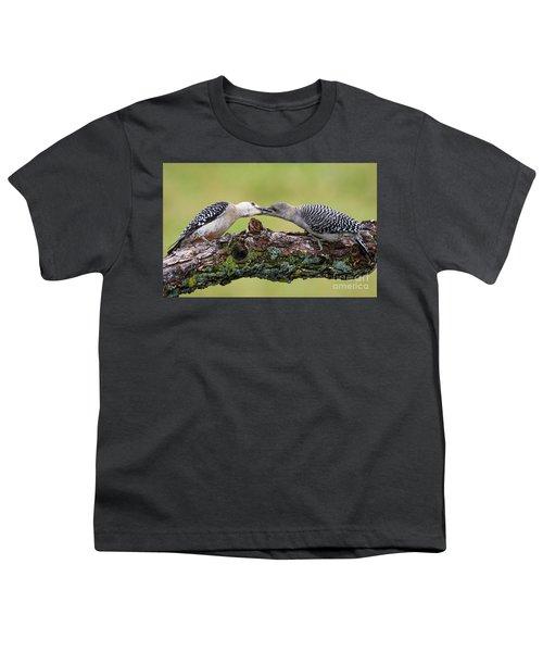 Feeding Time Youth T-Shirt by Ricky L Jones