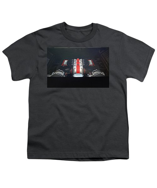 Ferrari 458 Speciale Engine Youth T-Shirt
