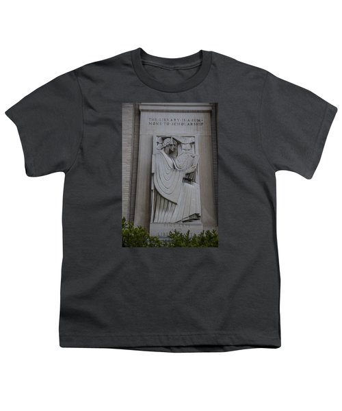 Fine Art Library Penn State  Youth T-Shirt by John McGraw