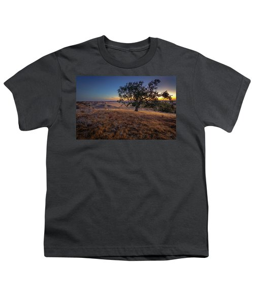 First Light On The  Canyon Ranch Youth T-Shirt