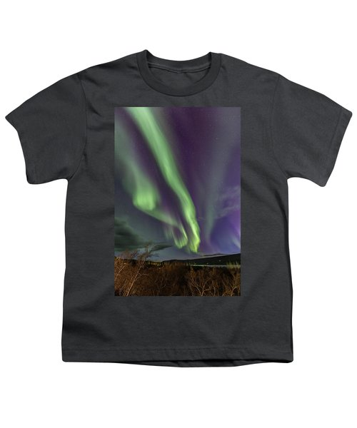 Flowing Aurora Youth T-Shirt