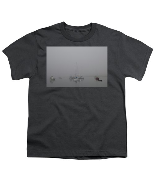 Youth T-Shirt featuring the photograph Waiting Out The Fog by David Chandler