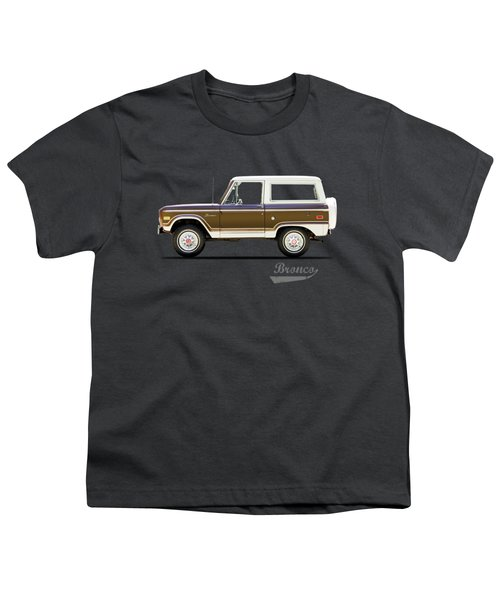 Ford Bronco Ranger 1976 Youth T-Shirt