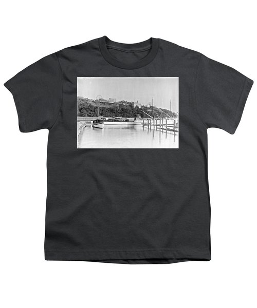Fort George Amusement Park Youth T-Shirt by Cole Thompson