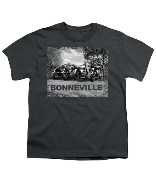 Four Bonnevilles Youth T-Shirt