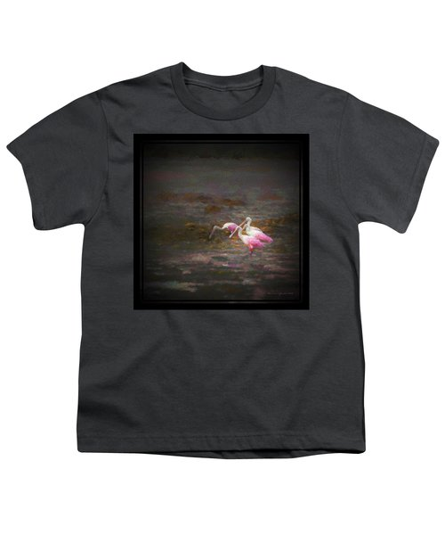 Four Spoons On The Marsh Youth T-Shirt by Marvin Spates