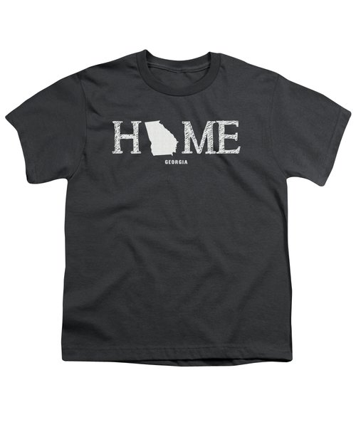Ga Home Youth T-Shirt by Nancy Ingersoll