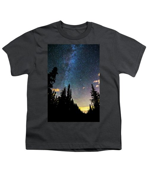 Youth T-Shirt featuring the photograph  Galaxy Rising by James BO Insogna
