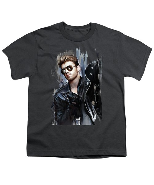 George Michael Singer Youth T-Shirt
