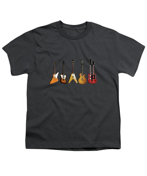 Gibson Electric Guitar Collection Youth T-Shirt