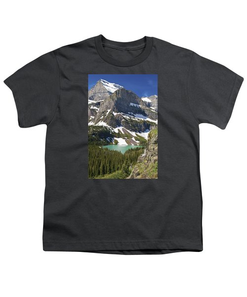 Glacier Backcountry Youth T-Shirt by Gary Lengyel