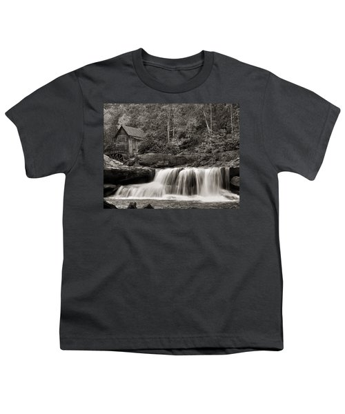 Glade Creek Grist Mill Monochrome Youth T-Shirt