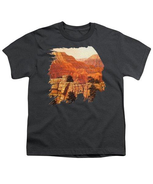 Grand Canyon Sunset Youth T-Shirt