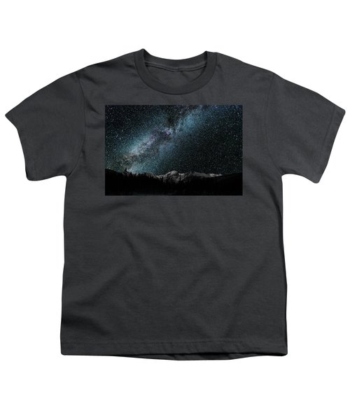 Hallet Peak - Milky Way Youth T-Shirt