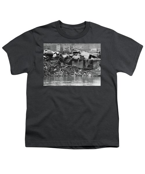 Harlem River Junkyard, 1967 Youth T-Shirt